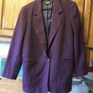 Harris/Wallace 100% wool blazer